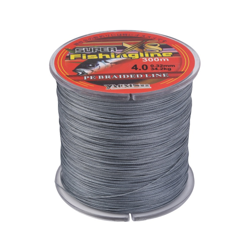 Fishing line 8 Strands 0.10~0.5MM 10-80LB Strong Fishing Line Sea Fishing 300m Multifilament PE Braided Fish 2019 New