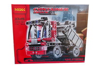 Decool 3345 119pcs Fun Building Blocks The Mini Dump Trucks Car Of The City Engineering Educational