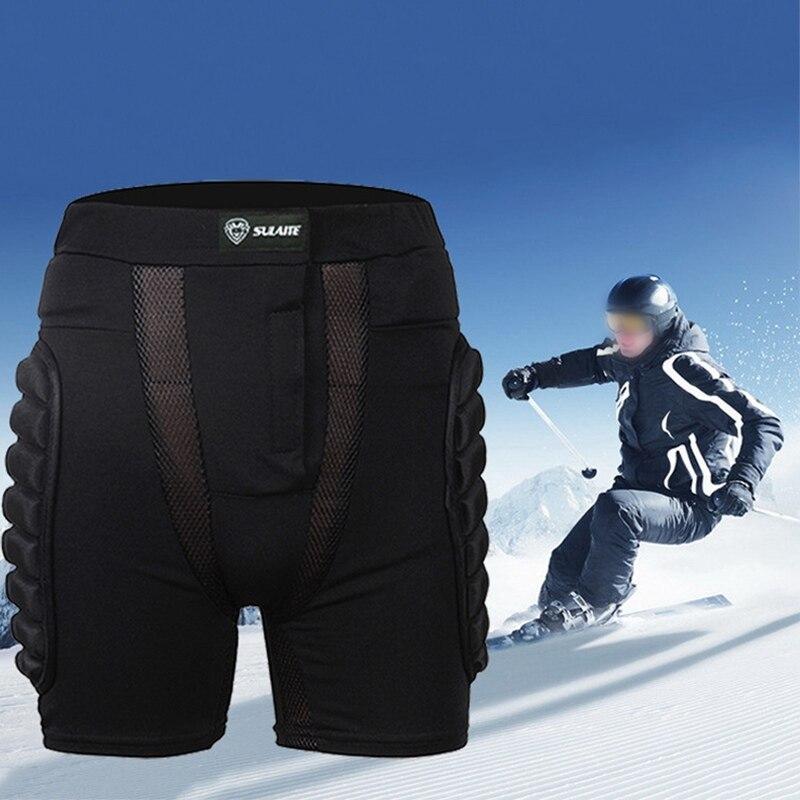 Neue Outdoor Sport Skifahren Skating Snowboard Shorts Butt Enhancer Snowboard Hüfte Schutz Frauen Männer Hip Pad Gepolsterte Shorts