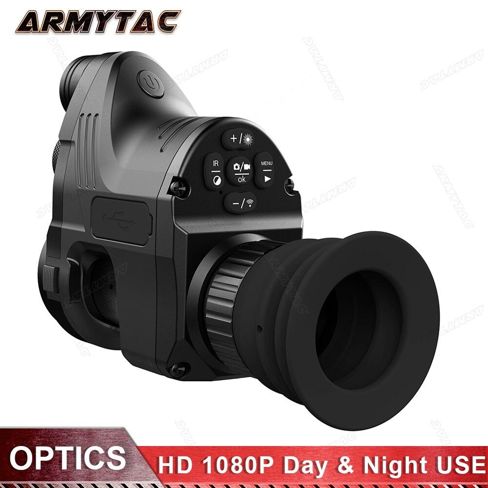 PARD A Raggi Infrarossi di Visione Notturna del Telescopio di Caccia di Visione Notturna Set Vista Digitale HD, QD IR Monoculare Riflescope di Caccia Speciale NV007