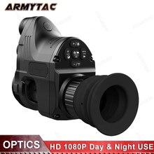 Пхард инфракрасный Ночное Видение телескоп Охота Ночное видение установить прицел Цифровой HD, QD ИК Монокуляр прицел охота специальные NV007