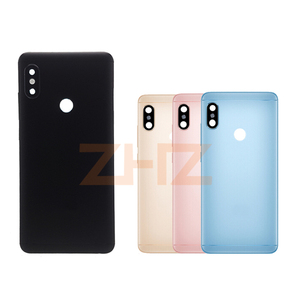 Image 5 - Original For Xiaomi Redmi Note 5/ Note 5 Pro Battery Back Cover Rear Door Housing + Side Key Card Tray Holder Replacement Parts