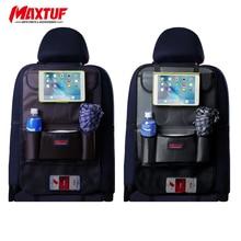 MAXTUF удобное заднее сиденье автомобиля аккуратный органайзер для путешествий беззаботный планшет тканевый держатель для напитков мульти-карман сумка для хранения коробка MT651