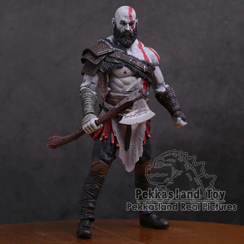 Originale God of War 4, Kratos Action PVC Figure Da Collezione Model Toy 7 inch 18 cm