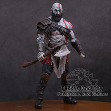 Original God of War 4 Kratos PVC Action Figure Collectible Model Toy 7inch 18cm(China)