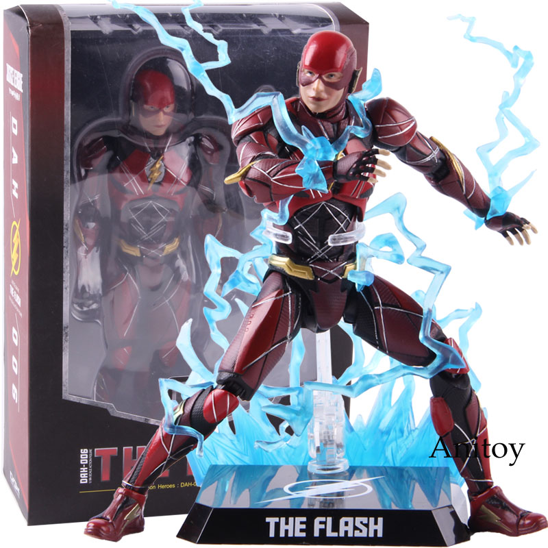 Beast Kingdom The Flash DAH-006 Justice League 1/9 Scale PVC Flash Action Figure Collectible Model Toy