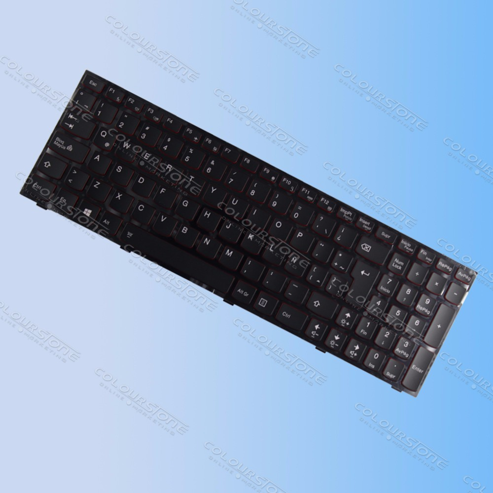 LA laptop keyboard for Lenovo Ideapad Y500 Y500N Y500NT Y500S Y510 Y510P Y590 Y590N Backlit Teclado Keyboard 25205415 MP-12B56LAJ686  (5)