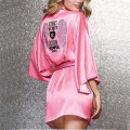 Silk Robes For Women Bathrobes Peignoir Femme Soie Albornoz Mujer Bathrobe Satin Robe Sexy Robes Dressing Gowns For Women Robe