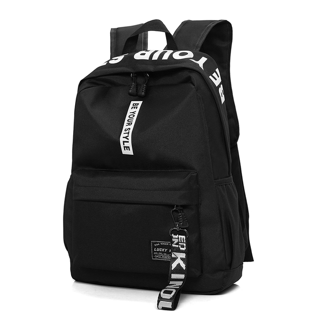 New Design Men s Nylon Backpacks Male Casual Travel Fashion women Teenagers  Student School Bags Simple Notebook Laptop Backpack 296d2da942375