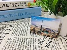 Free Shipping Dubai Refrigerator Magnets 21084,Souvenirs of Worldwide Landscape Online Store