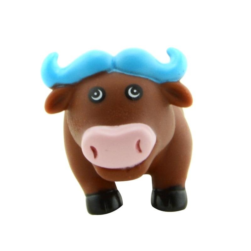 Starz Cute Mini Buffalo Cattle Ox Animal Soft Rubber Squeeze ...