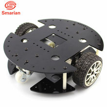 smarian Two drive type 37B280 intelligent car 37GB deceleration motor DIY kit fun robot chassis model(China)