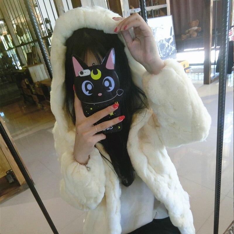 Γυναικεία παλτό γούνας Rex Rabbit - Γυναικείος ρουχισμός - Φωτογραφία 2