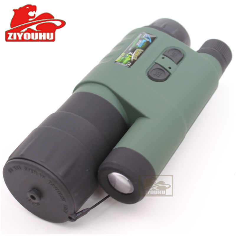 ZIYOUHU Night vision device single tube infrared night vision device Bo collar 85 green field search night vision IR hunting