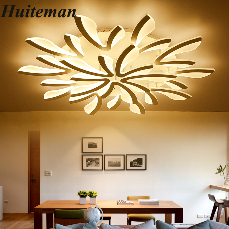 New Modern Ceiling Lights LED Ceiling Lamp Aluminum Acrylic White Dimmable For Indoor Home Lighting Dining Room Bedroom Fixtures round led ceiling light white modern acrylic ceiling lamp dimmable with remote control for kids bedroom lighting fixtures