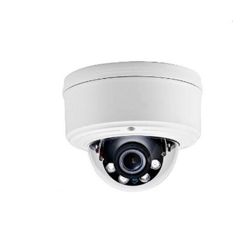 CCTV Security 5.0 Megapixel Vandal proof 2.8-12mm Motorized Lens IR Dome IP Camera POE