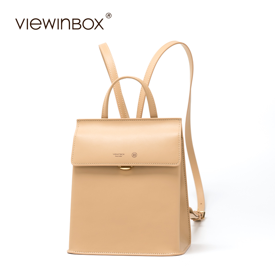 Viewinbox Fashion Backpacks For Teenage Girls Women's Split Leather Backpack School Bag Casual Large Capacity Travel Backpack jmd backpacks for teenage girls women leather with headphone jack backpack school bag casual large capacity vintage laptop bag
