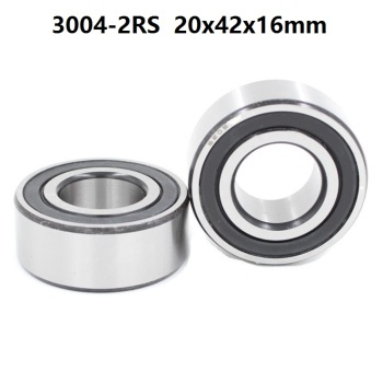 10pcs 3004-2RS 3004RS 3004 2RS RS 20x42x16 mm Double Row Angular Contact Ball Bearing sealed 20*42*16mm