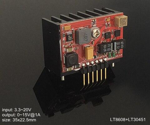LT3045EDD-1 LT8608 positif à faible bruit RF Radio fréquence Audio DAC ADC Module d'alimentation linéaire 1A