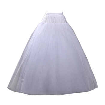 ca9a1ddbf JaneVini elegante negro Crinoline enaguas de sirena enaguas bajo el vestido  de novia de tul ...