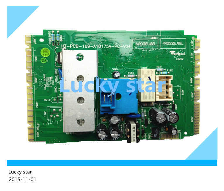 95% new good working High-quality for Whirlpool washing machine Computer board XQG70-ZC24704S/W ZC20703S 169-A10175A-PC-CN board good working high quality for lg washing machine computer board wd n10310d ebr61282428 ebr61282527 board
