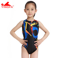 Yingfa Swimwear Swimsuit Arena Girls Swimsuits Children Racing Competition Maillot De Bain Kids Swimming Suits Professional