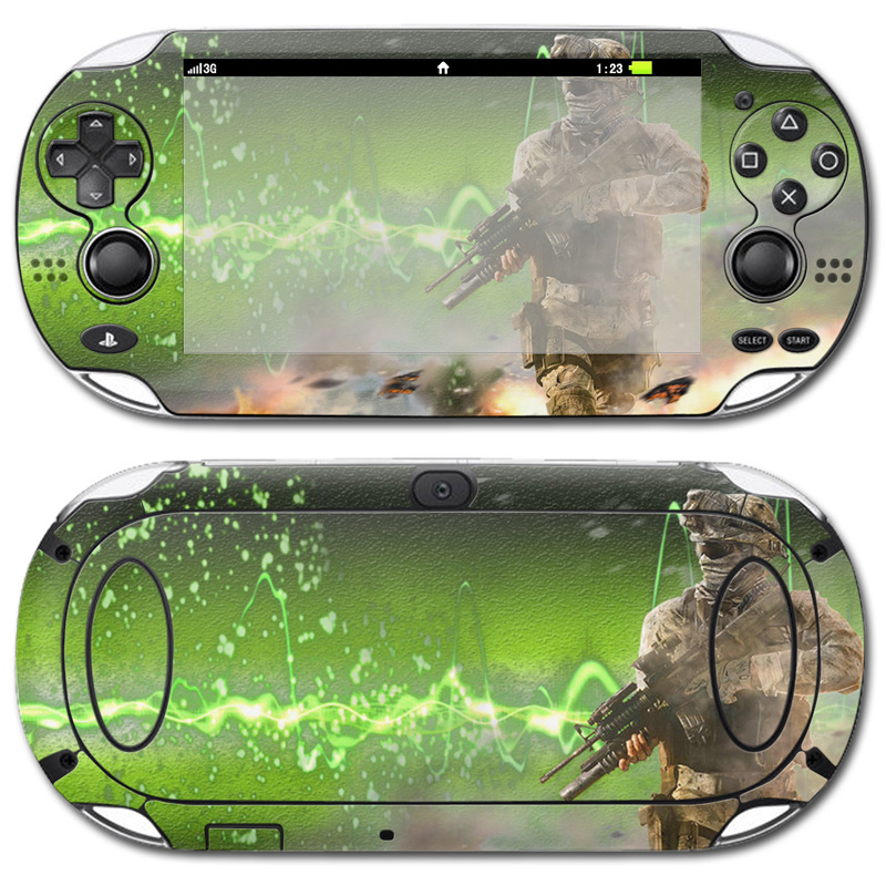 Factory Made High Quality create your own gaming skin For Sony PSP vita 1000 skin #TN-PSVITA1000-0379
