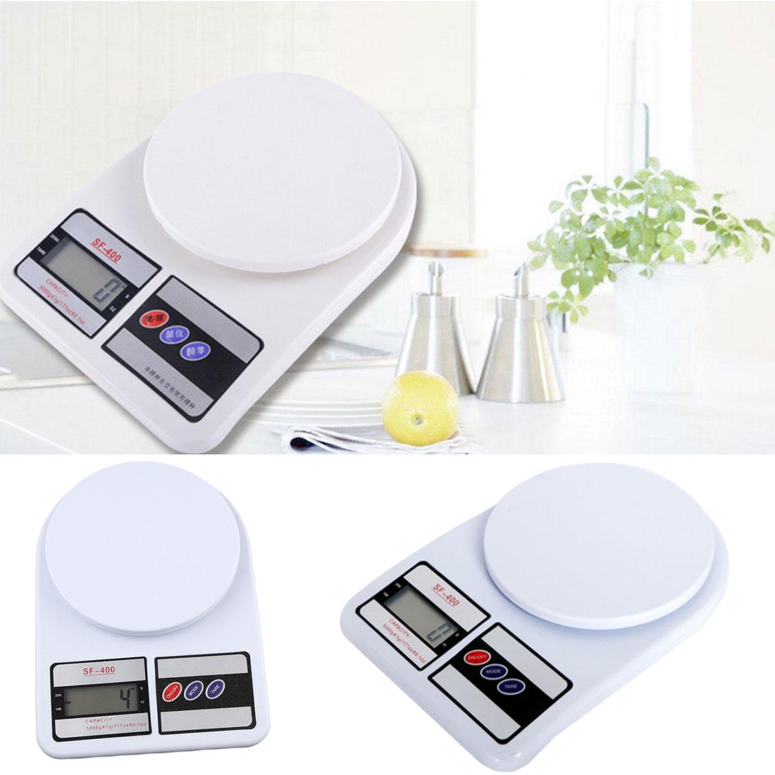 10 kg x 1g Digital Waage Küche Waagen Elektronische Balance 10000g Obst Waage für Ernährung Bodybuilding