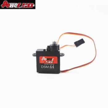 4PCS orginal Power HD DSM44 4.4G Micro Digital Servo 1.6kg/5.8g 20T Steering Gear for RC Airplane RC Model