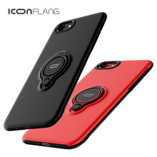 New Ring Case for iPhone7, 360 Rotate Ring phone case for iphone 7 7Plus mobile phone cover by ICONFLANG(China)