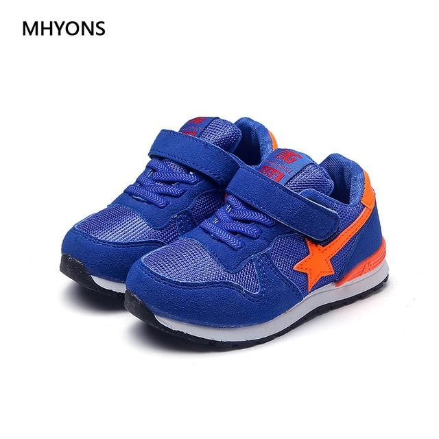 Enfant garçons Chaussures de sport Chaussures de course à coussin d'air chaussures de sport en cuir étudiant baskets O8HfCh0