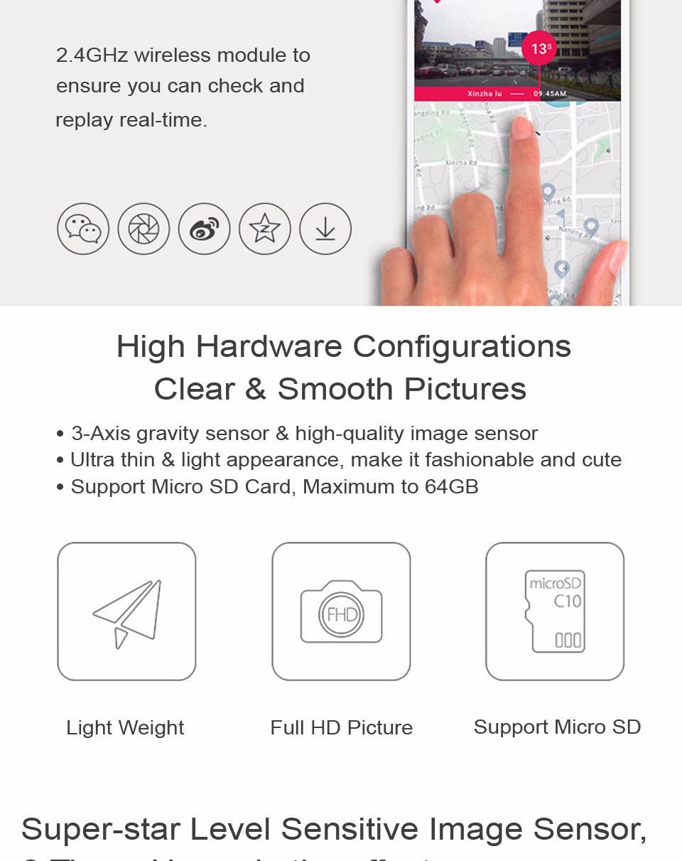Xiaomi YI Smart Dashcam Car DVR (6)
