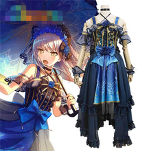 Anime Cosplay Costume BanG Dream Roselia 4th Single Minato Yukina Concert Dress Z