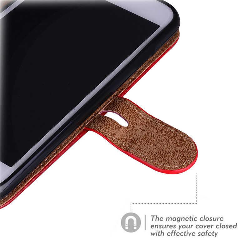 محفظة قلابة نوت 10plus حقيبة لهاتف سامسونج جالاكسي نوت 10 S10 S9 S8 Plus S10E S7 S6 Edge S5 حافظة بطاقات جلدية غطاء هاتف فوندا