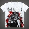 Envío gratis adolescentes nuevo verano corta camiseta camisa adolescentes Sakata Gintoki Top Tees