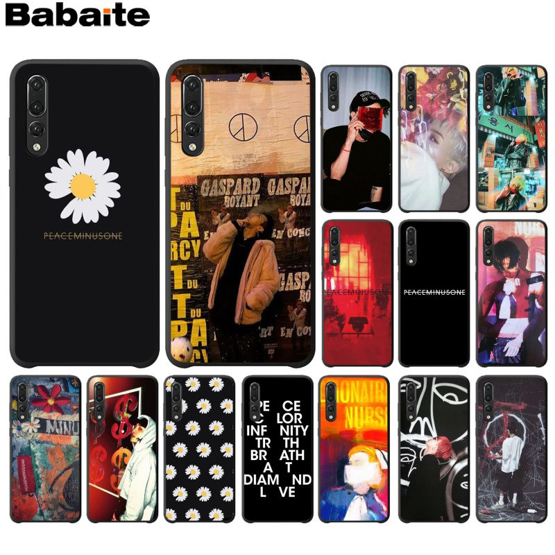 Babaite <font><b>BIGBANG</b></font> G-dragon peaceminusone Phone Accessories Case for Haiwei P10 plus Honor 9 10 View 10 Mate 9 Coque Shell image