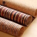 WUTA Cork Fabric Liner For Leather Handcraft Diy Material&Home Decorate Liner Handmade Bag/Wallet Lining Stripe/Natural Cork