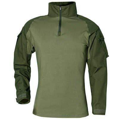 Военная мультикамера Военная боевая рубашка Униформа тактическая рубашка с налокотниками камуфляжная охотничья одежда Ghillie костюм Топ