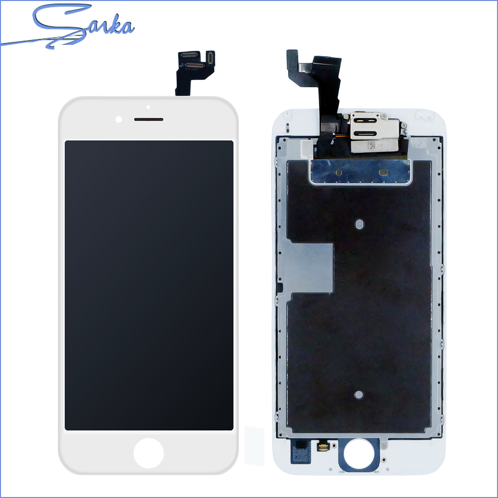 SANKA Display For Apple iPhone 6S LCD Display Complete 3D Touch Screen Digitizer Replacement Assembly Full Set Cemara Phone Part sanka for iphone 5s 5c 5 lcd screen display touch screen replacement digitizer ecran pantalla lcd assembly black