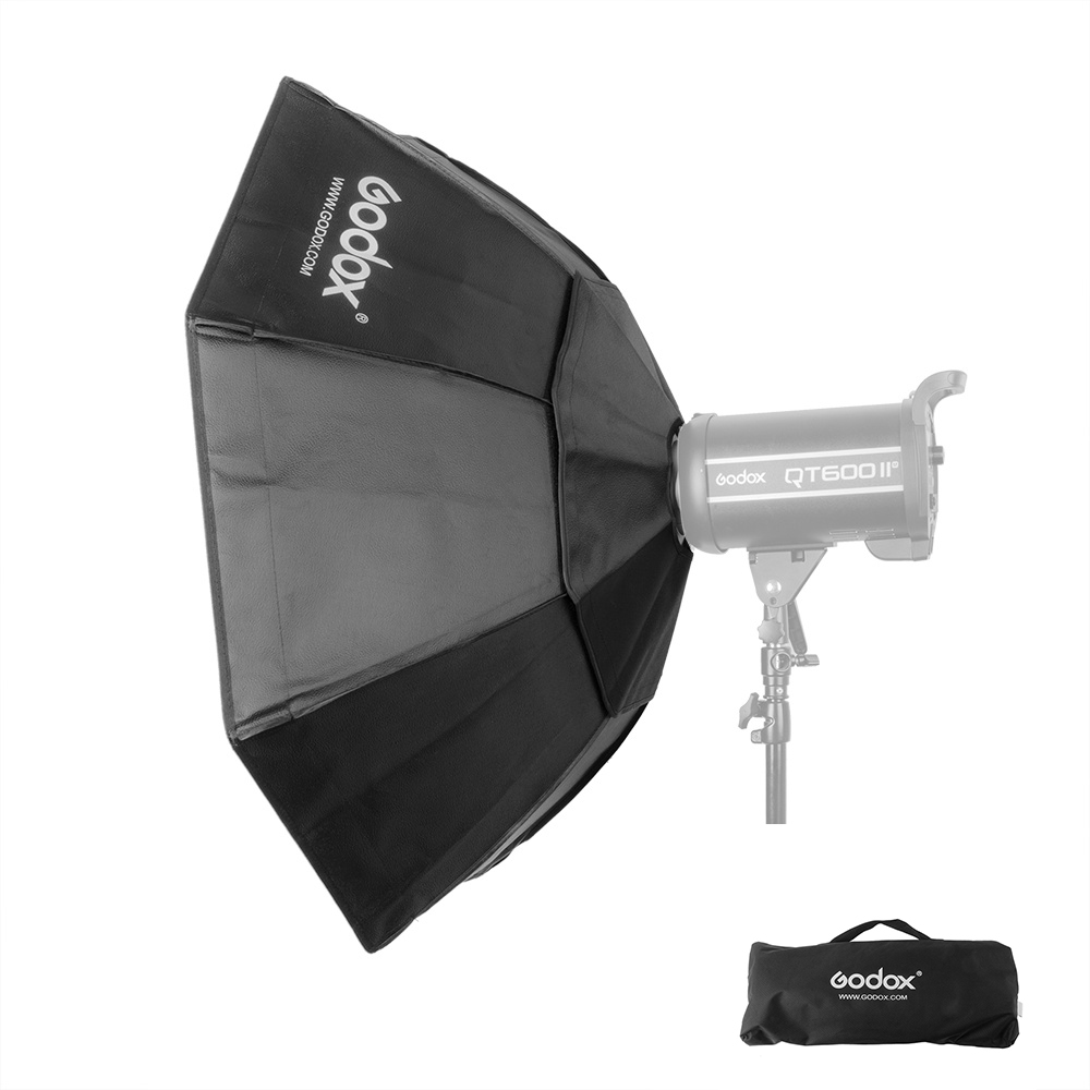 Godox Softbox with Grid Bowens Universal Mount and Diffuser Dimension 95CM ashanks 55cm 22 studio silver beauty dish bowens mount honeycomb grid diffuser sock