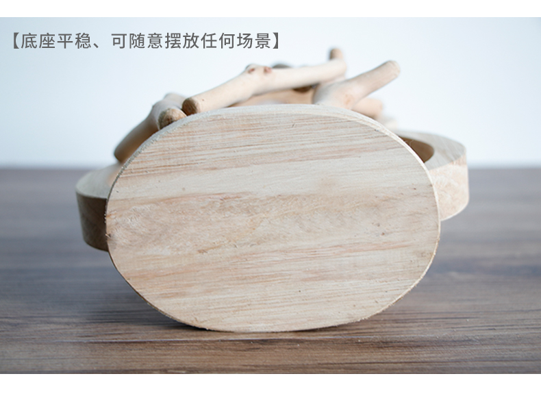 HTB19o8WRa6qK1RjSZFmq6x0PFXal - Pure Handwork Wooden Vase Decorated Solid Wood Flower Pot for Creative Glass Floral Hydroponic Container Home Decorative Vase