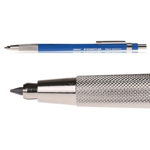 Image 2 - Leadholder Mechanical Pencils Mars technico No.780;Leadholder for drawing, sketching and writing; For 2 mm leads
