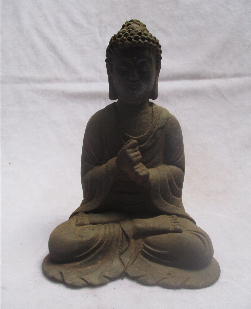 christmas decorations for home+ Collectible Decorated old Iron Carved Buddha /High :8inch Chinee Buddha Sculpture Free shippingchristmas decorations for home+ Collectible Decorated old Iron Carved Buddha /High :8inch Chinee Buddha Sculpture Free shipping