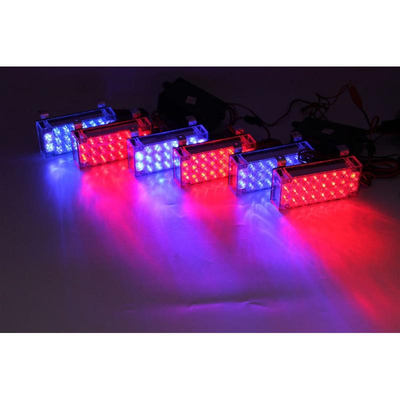 AEING 6 * 22 132 LED Avtomobil üslublu Flash Strobe Fövqəladə - Avtomobil işıqları - Fotoqrafiya 4