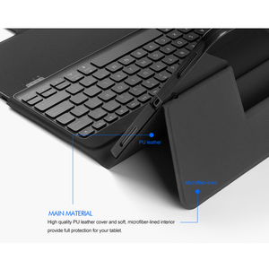 """Image 3 - 5.1 Bluetooth Keyboard Case For iPad pro 12.9"""" 2018, All in one Wireless  Keyboard with 7 Color Backlit+Premium Leather Case"""
