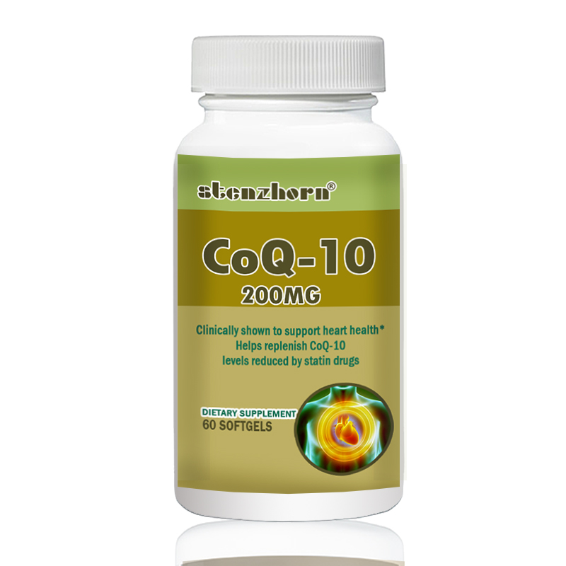 Heart Health  Q10 200mg  60pcs  Antioxidant Support   Cellular Energy Production
