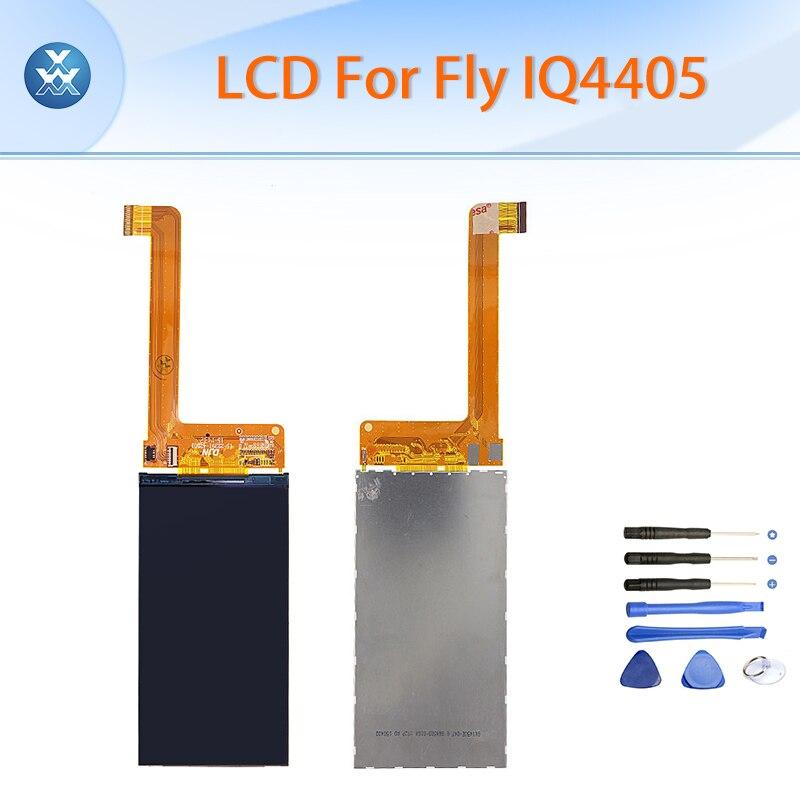 LCD de la Original para Fly IQ4405 negro 4.5 \