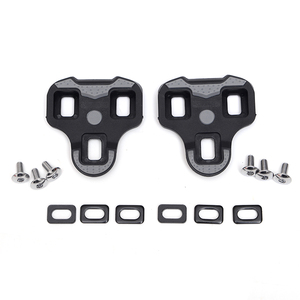 Image 5 - 225g Carbon fiber Titanium axle bicycle pedals ultra light carbon self locking pedal cycling road 3degree cleats for Look Keo