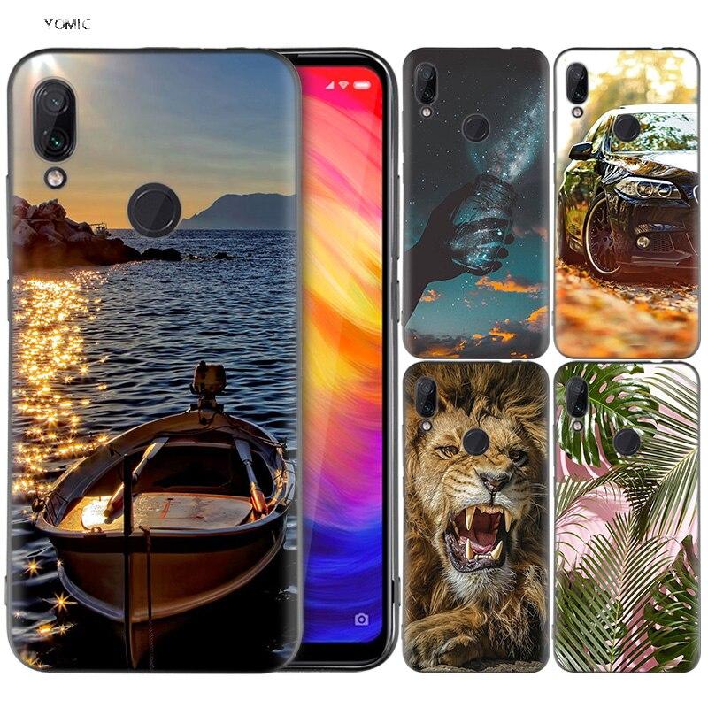 US $2 49 37% OFF|Silicone Coque Case for Xiaomi Redmi Note 7 6 5 Pro Mi A1  A2 8 Lite 9 GO Poco F1 S2 4 4X Plus HD Wallpaper Aesthetic Mobile Phon-in