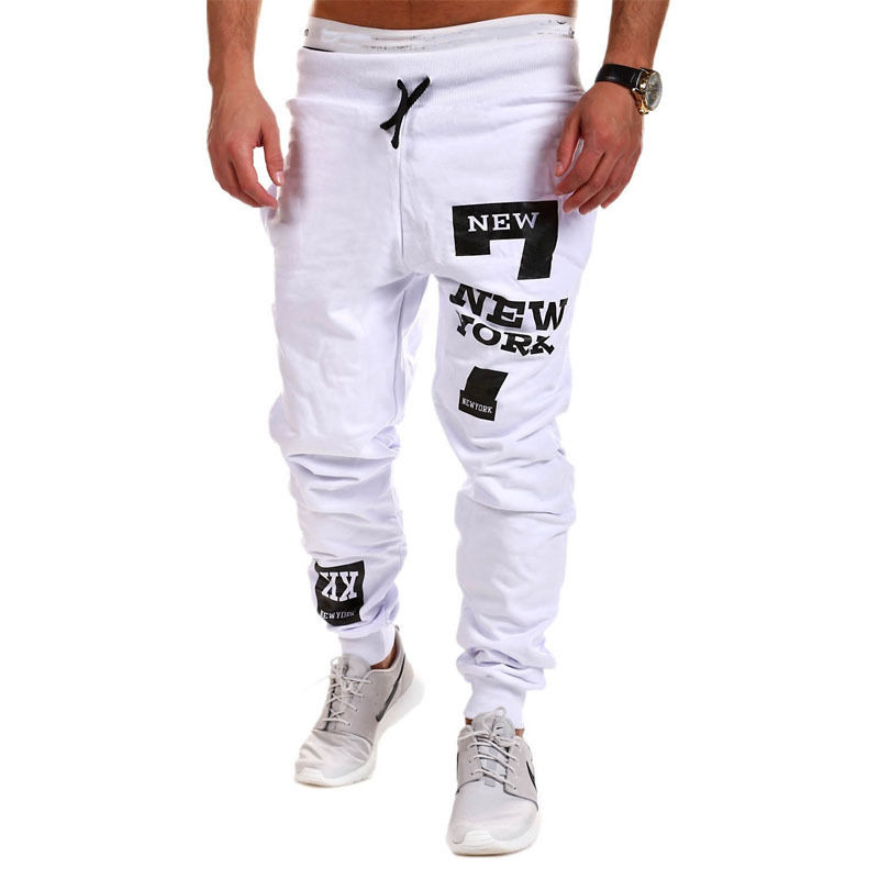ITFABS Newest Arrivals Fashion Hot Men's Casual Loose Baggy Pants Street Elastic Waist Soft Pants